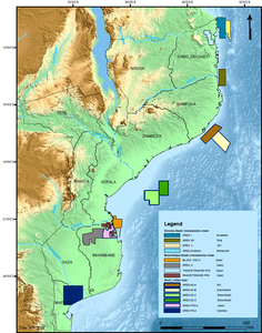 Mozambique Concessions Areas